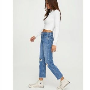 Levi's x Aritiza Wedgie Ankle Straight Jeans